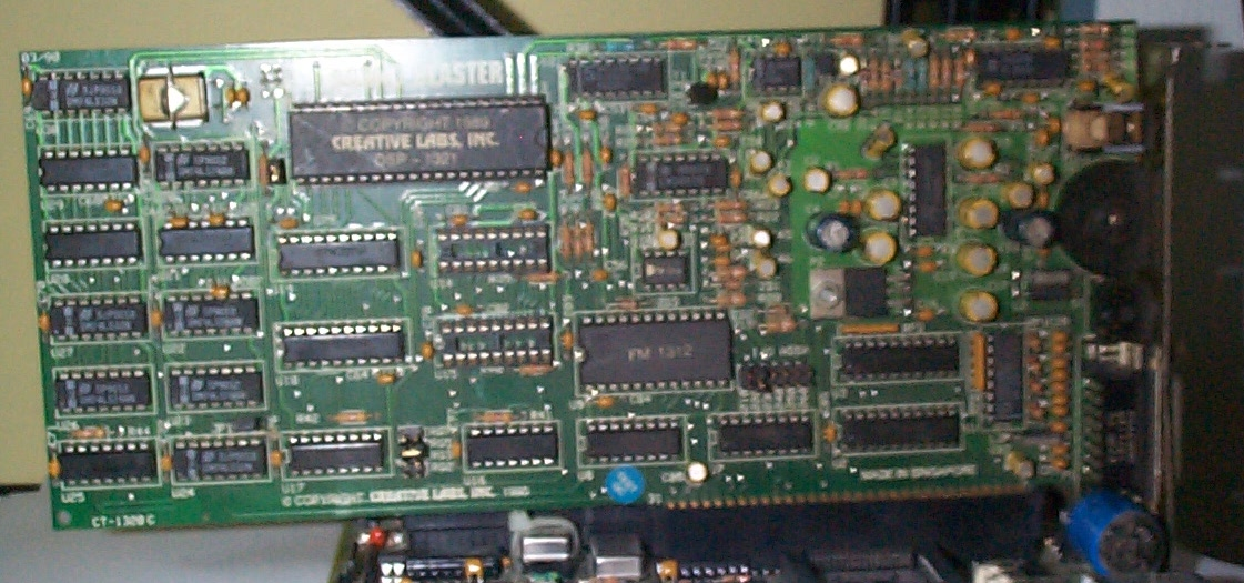 An early 8-bit Sound Blaster