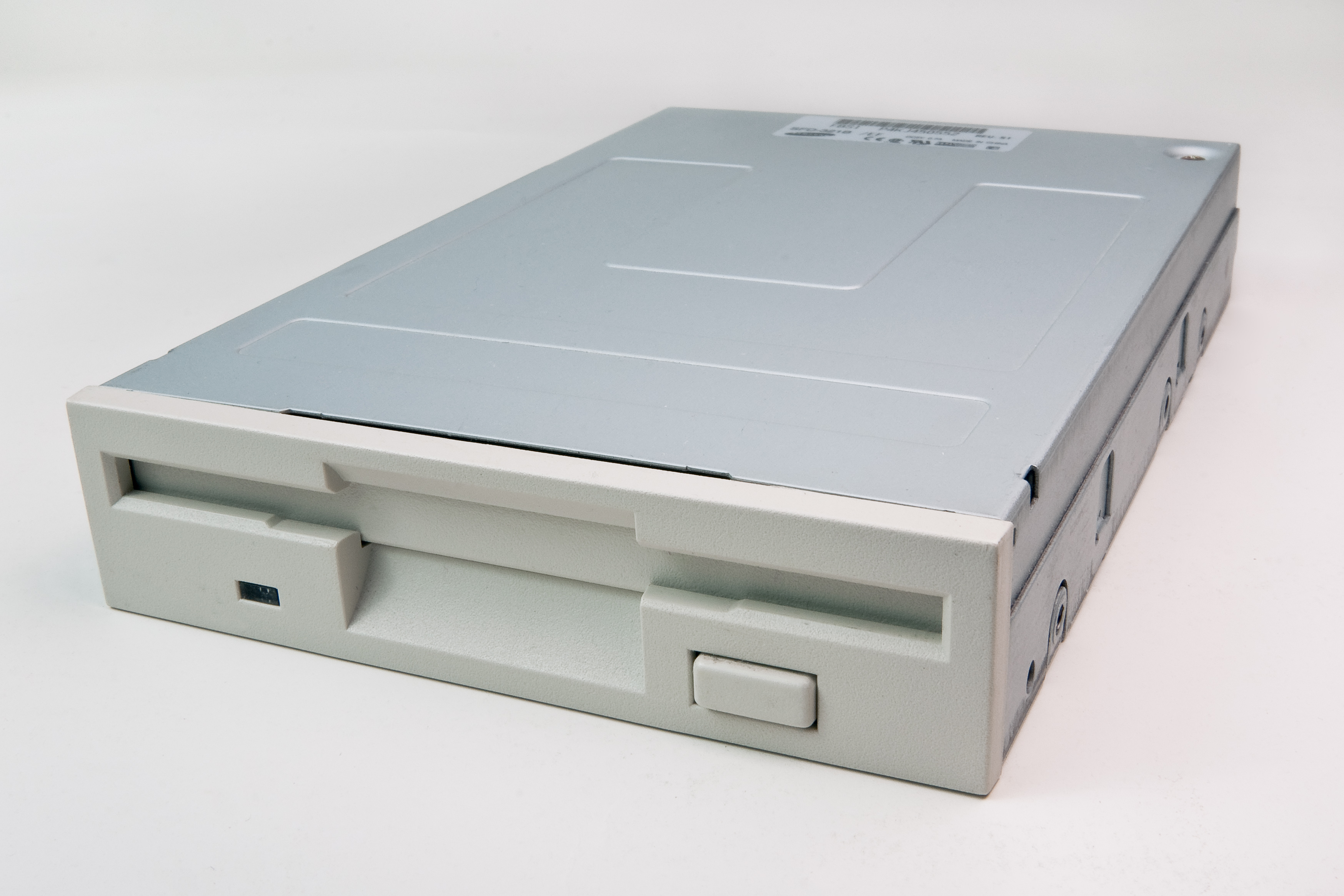 A typical 3.5in Floppy disk internal drive.